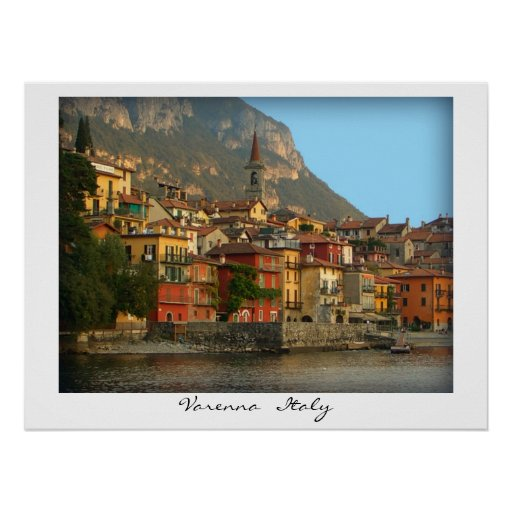 Varenna   Italy Poster