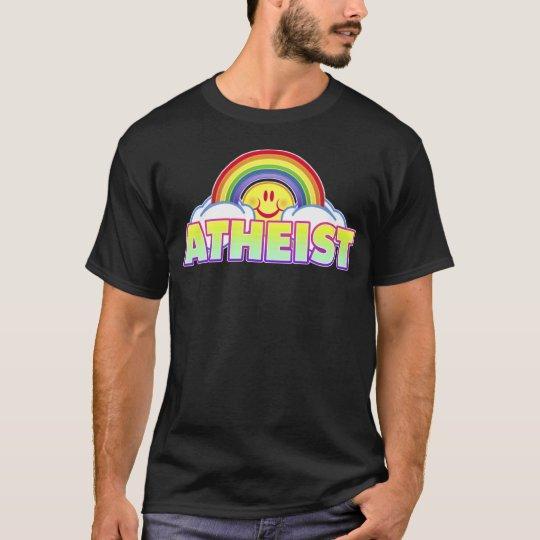 Variable Style/Colour Rainbow Atheist T-Shirt