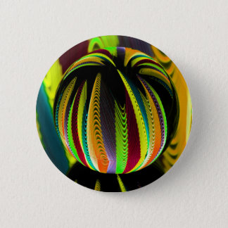 Variation ColoursI in Ball 6 Cm Round Badge