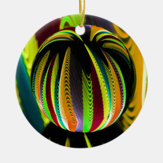 Variation ColoursI in Ball Christmas Ornament