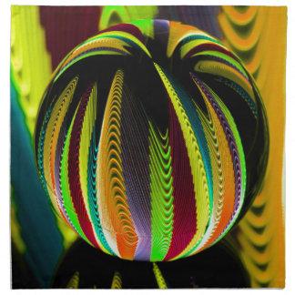 Variation ColoursI in Ball Napkin