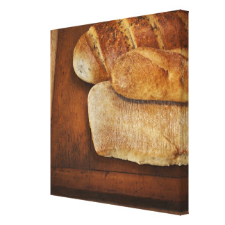 Variation of baked goods canvas print
