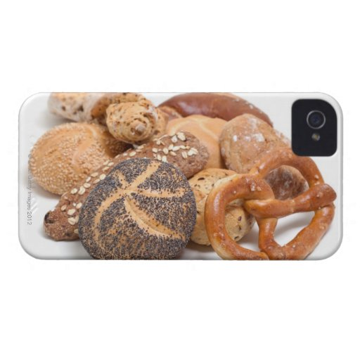 variation of baked goods blackberry case