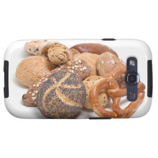 variation of baked goods samsung galaxy SIII cover