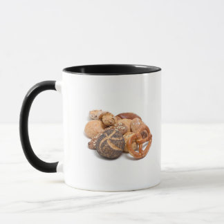 variation of baked goods mug