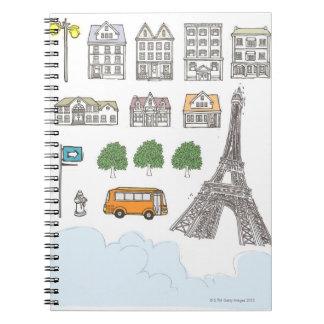 Variation Spiral Notebook