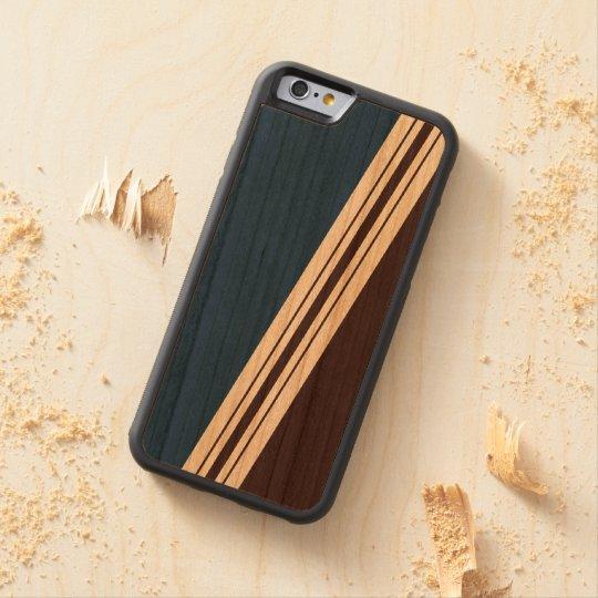 Varied Width Stripes Wood iPhone Cherry iPhone 6