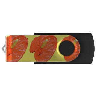 Variegated Chinese Lantern Flash Drive Swivel USB 2.0 Flash Drive
