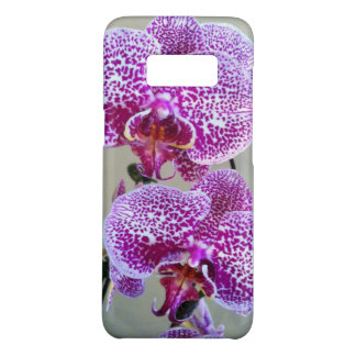 Variegated Purple Orchid Close-Up Photograph Case-Mate Samsung Galaxy S8 Case