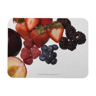 Variety of berries magnet