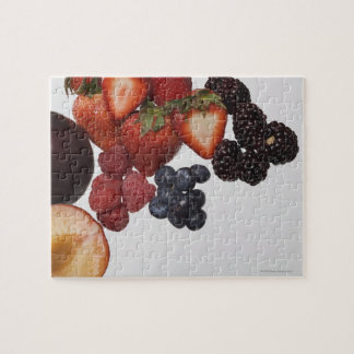 Variety of berries puzzles