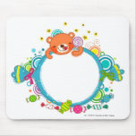 Variety of candies mousepad