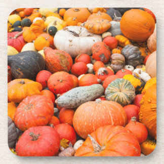 Variety of squash for sale, Germany Drink Coaster
