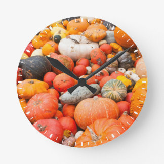 Variety of squash for sale, Germany Wallclock
