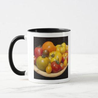 Variety of tomatoes mug