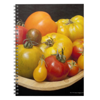 Variety of tomatoes notebooks