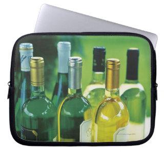 Variety of wine bottles laptop sleeve