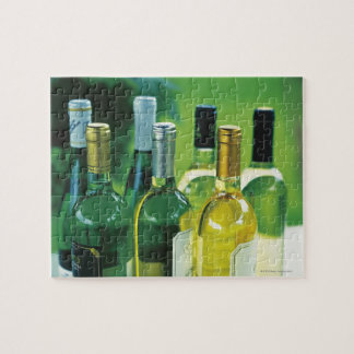 Variety of wine bottles puzzle