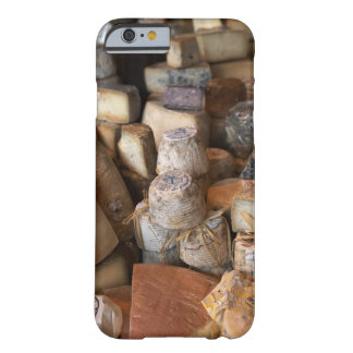Various cheeses on market stall, full frame barely there iPhone 6 case