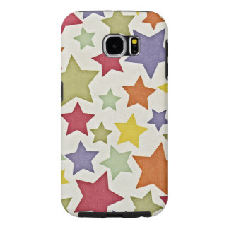 Various Colorful Stars Pattern