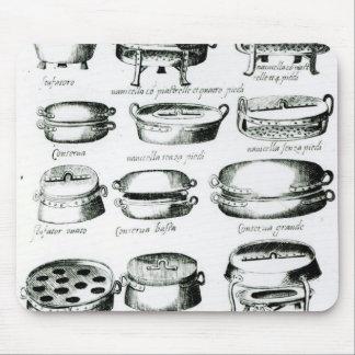 Various Cooking Vessels 1570 Mousepad