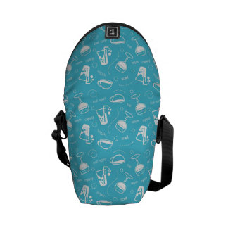 Various drinks courier bag