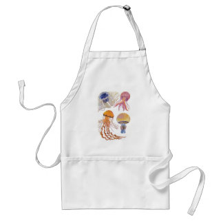 Various Jelly Fish Standard Apron