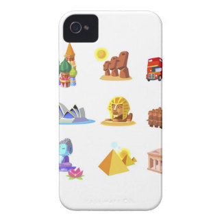 Various monuments of world iPhone 4 Case-Mate cases