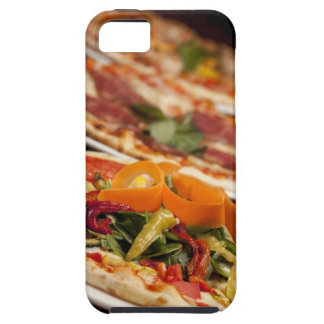 Various Pizza and Toppings iPhone 5 Cover