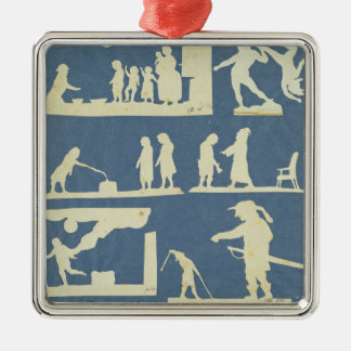 Various Scenes Christmas Ornament