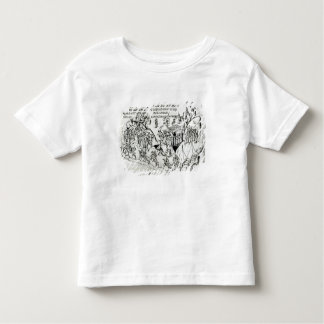 Various scenes illustrating a psalm 2 toddler T-Shirt