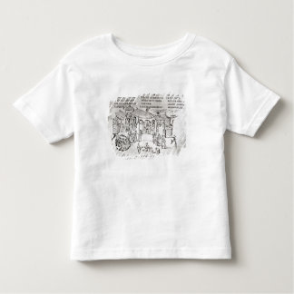 Various scenes illustrating a psalm toddler T-Shirt