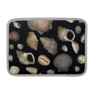Various sea shells MacBook sleeve
