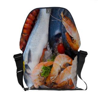 Various Seafood Courier Bag