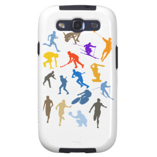 Various Sports Galaxy S3 Covers