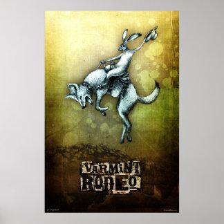 Varmint Rodeo Poster