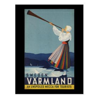 VarmLand Sweden Postcard