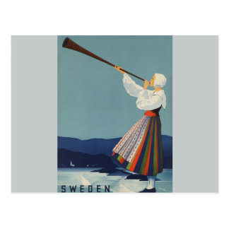 Varmland Sweden - Vintage Travel Postcard