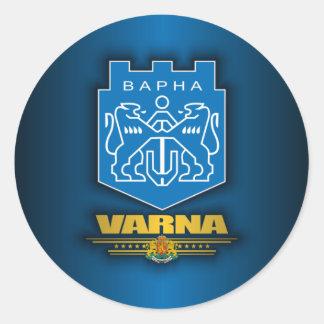 Varna COA Classic Round Sticker