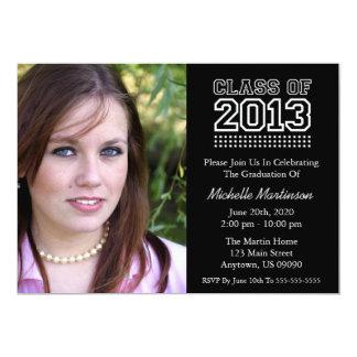 Varsity Class Of 2013 Graduation (Black) Card
