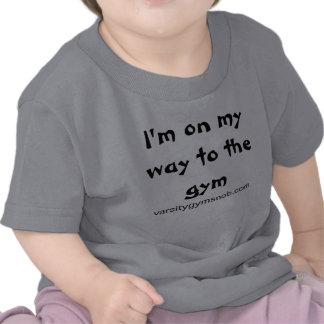 Varsity Gym Snob Baby and Toddler T Tee Shirts
