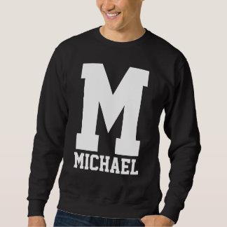 Varsity Letterman Monogram Sweatshirt