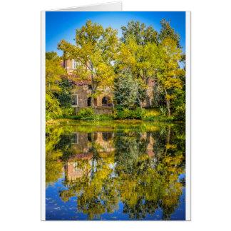 Varsity Pond, University of Colorado Boulder Card