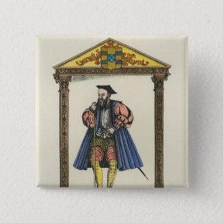 Vasco da Gama 15 Cm Square Badge