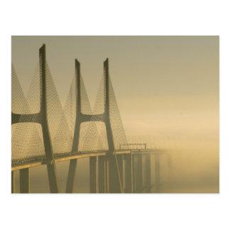 Vasco da Gama Bridge Lisbon Portugal Postcard