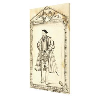 Vasco da Gama  from 'Lendas da India' Canvas Print
