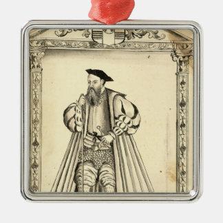 Vasco da Gama  from 'Lendas da India' Christmas Ornament