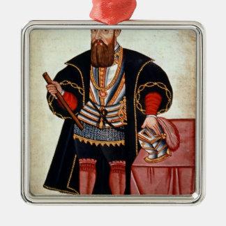 Vasco da Gama , illustration Christmas Ornament