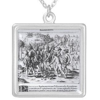 Vasco Nunez de Balboa Silver Plated Necklace