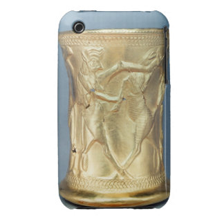 Vase decorated with mythological creatures, Persia iPhone 3 Case